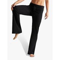 M-Life Relaxed Bootleg Yoga Pants, Black
