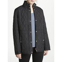 Lauren Ralph Lauren Quilted Mockneck Coat, Black