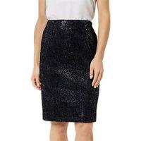 Fenn Wright Manson Petite Roma Skirt, Navy