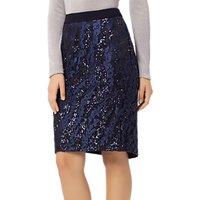 Fenn Wright Manson Zara Sequin Skirt, Navy