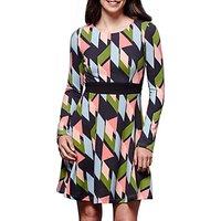 Yumi Geometric Print Dress, Multi