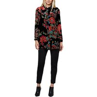 East Devore Chatsworth Long Shirt, Black/Multi