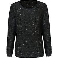 East Sequin Knit Jumper, Black