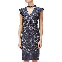 Adrianna Papell Lace Cap Sleeve Sheath Dress, Multi