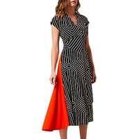 L.K. Bennett Shelly Jersey Dress, Print Black