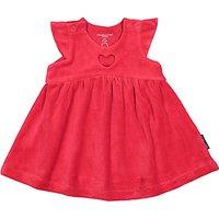 Polarn O. Pyret Baby Velour Dress, Red
