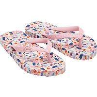 Little Joule Children's Ditsy Ice Lolly Flip Flops, Pink