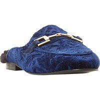 Dune Gole Mule Faux Fur Lined Loafers