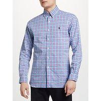 Polo Ralph Lauren Button Down Check Poplin Shirt