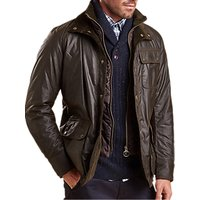 Barbour Connel Waxed Cotton Jacket, Olive