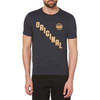 Original Penguin Diagonal Graphic T-Shirt, Black