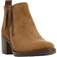 Dune Pikton Block Heeled Ankle Boots