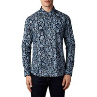 Pretty Green Offshore Paisley Shirt, Navy