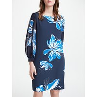 Marella Floral Print Dress, Navy