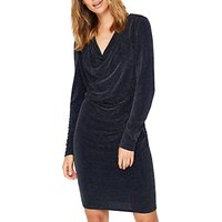 Damsel in a dress Sparkle Jersey Dress, Black/Silver