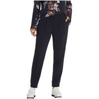 Betty & Co. Crepe Tailored Trousers, Dark Sapphire