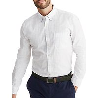 Joules Welford Oxford Check Classic Fit Shirt, Chalk