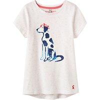 Little Joule Girls Pixie Dalmatian T-Shirt, Cream