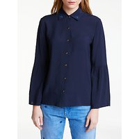 Maison Scotch Star Collar Shirt, Navy