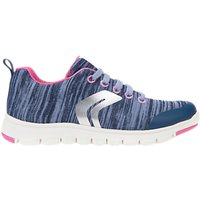 Geox Children's J Sunday Laced Trainers, Pink