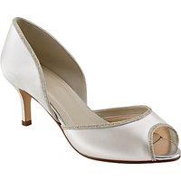 Rainbow Club Matilda Peep Toe Court Shoes, Ivory