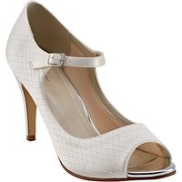 Rainbow Club Peggy Peep Toe Court Shoes, Ivory