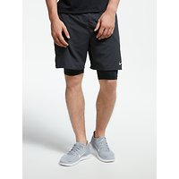 Nike Flex Stride 2 in 1 7 Running Shorts, Black