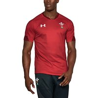 Under Armour Official Welsh Rugby Union Supporters Shirt, Red