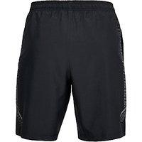 Under Armour Woven Training Shorts, Black/Zinc Grey