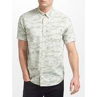 Carhartt WIP Camo Short Sleeve Shirt, Green
