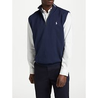 Polo Golf By Ralph Lauren Half Zip Vest, French Navy