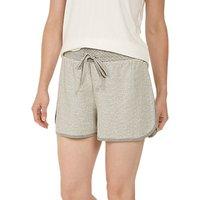Face Face Snow Dot Pyjama Shorts, Grey Marl