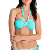 Seafolly Twist Bandeau Bikini Top, Iceberg