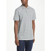Polo Golf by Ralph Lauren Pro-Fit Stripe Polo Shirt, Taylor Heather/White/New England