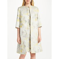 Bruce by Bruce Oldfield Jacquard Coat, Yellow