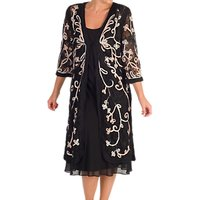 Chesca Cornelli Embroidered Lace Coat