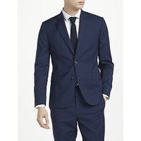 J.Lindeberg Italian Comfort Wool Slim Fit Suit Jacket, Mid Blue