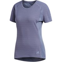 adidas Supernova Short Sleeve Running Top, Raw Indigo