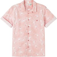John Lewis Boys Short Sleeve Shirt, Pink