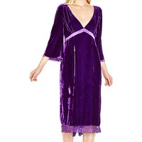 Ghost Kaylee Dress, Bright Purple