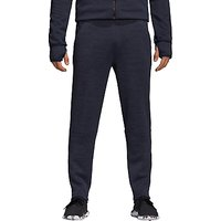Adidas Zone Tracksuit Bottoms, Heather/legend Ink/black