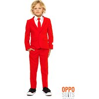OppoSuits Red Devil Costume, Childrens