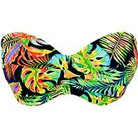 Freya Electro Beach Bandeau Bikini Top, Multi