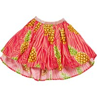 Angel & Rocket Girls Pineapple Print Skirt, Pink