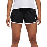 Adidas M10 Icon Running Shorts, Black/white