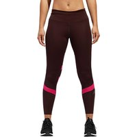 Adidas How We Do Printed Running Tights, Night Red/real Magenta
