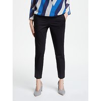 Marella Slim Trousers, Black