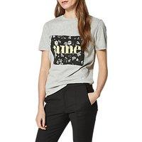 Selected Femme Marny T-Shirt, Grey Marl