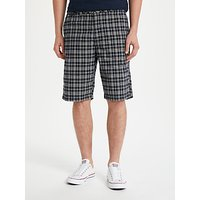 John Lewis & Partners Miller Check Shorts, Navy
