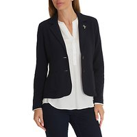 Betty Barclay Textured Blazer, Dark Sky